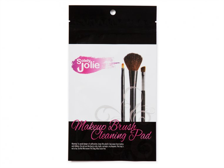 Waterless Makeup Brush Cleaning Pad by Solely Jolie - 7