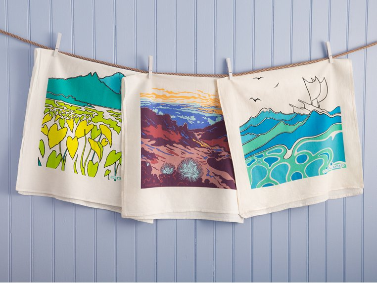 Hawaiian Flour Sack Tea Towel by Cultivate Hawaii - 2