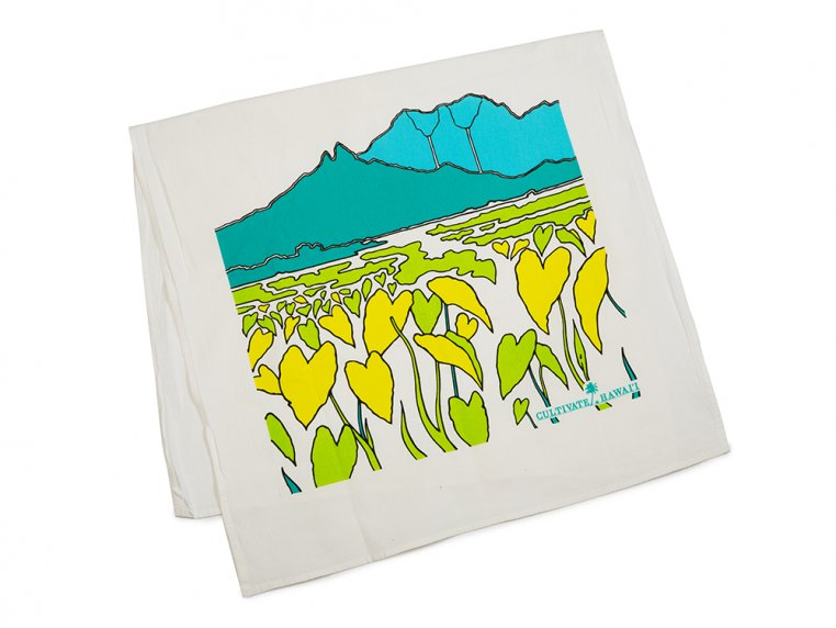 Hawaiian Flour Sack Tea Towel by Cultivate Hawaii - 6