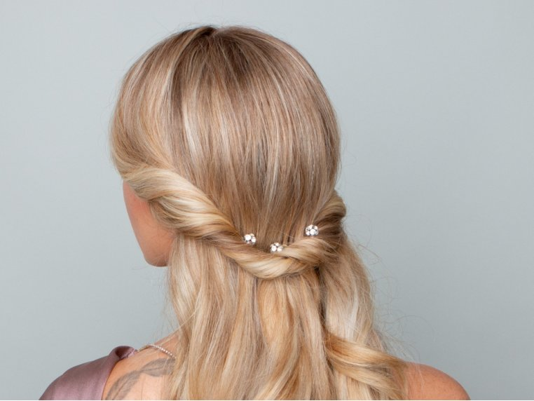 Flocked Non-Slip Charm Hair Pins by Frenchies - 2