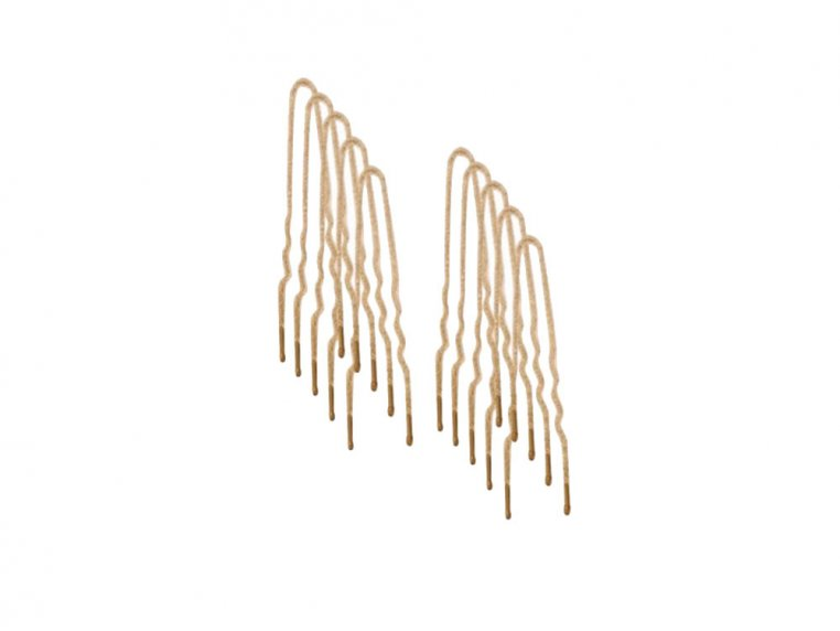 Flocked Non-Slip Hair Pins - 100 Pack by Frenchies - 9