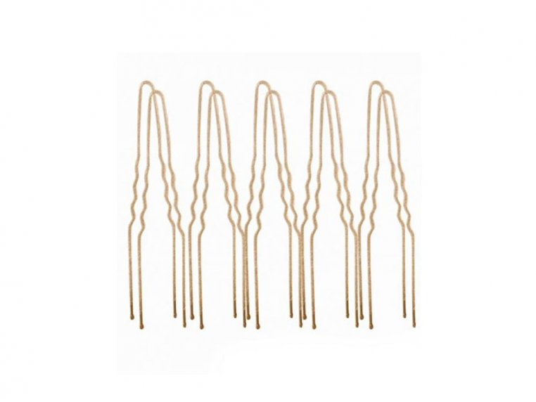 Flocked Non-Slip Hair Pins - 100 Pack by Frenchies - 10