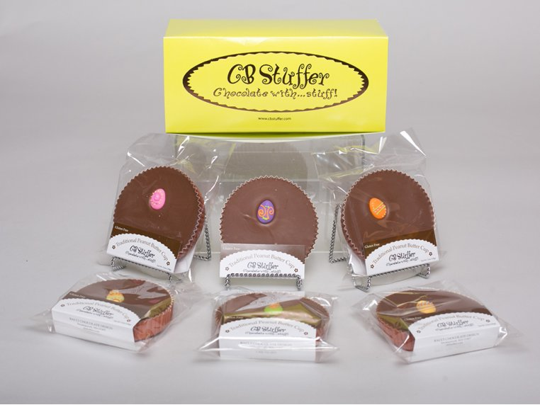 Spring Themed Peanut Butter Cup - 6 Pack - Easter