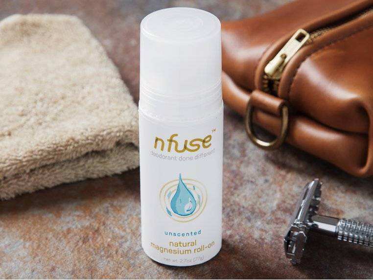 All-Natural Magnesium Roll-On Deodorant by nfuse - 2