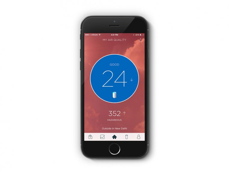 Smart Air Quality Tracker by Wynd - 3