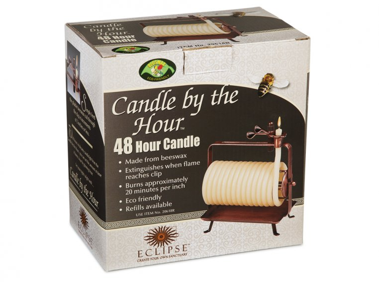 Self-Extinguishing Coil Candle by Candle by the Hour - 4