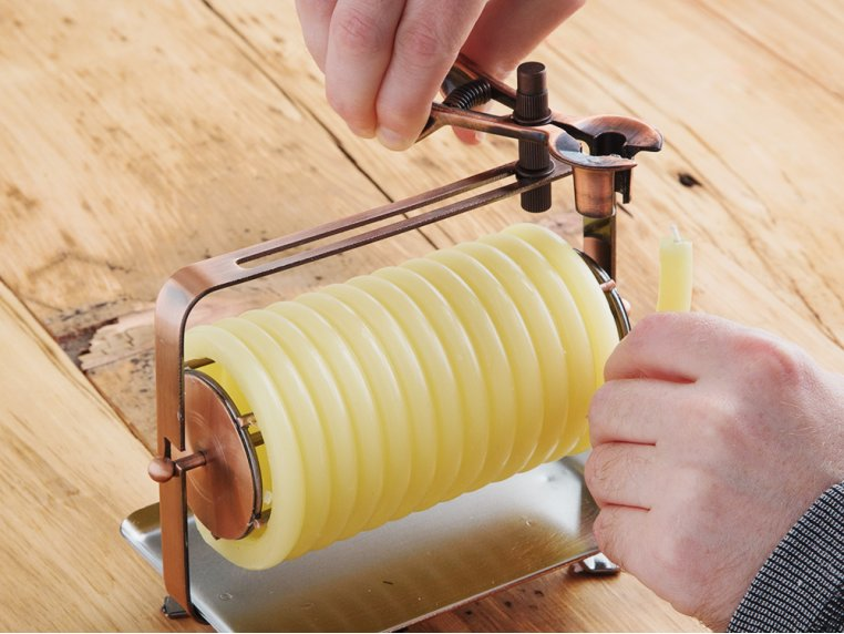 Beeswax Coil Candle Refill by Candle by the Hour - 2