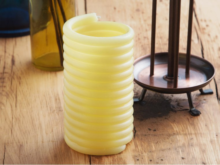 Beeswax Coil Candle Refill by Candle by the Hour - 1