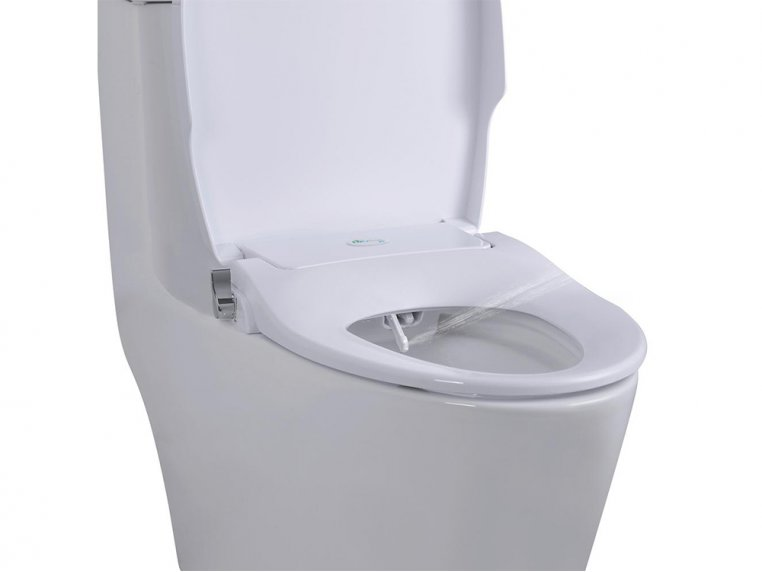 Terrific Biobidet Slim Zero Non Electric Light Up Bidet Seat Caraccident5 Cool Chair Designs And Ideas Caraccident5Info