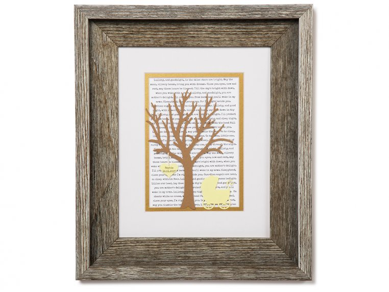 Personalized New Baby Lullaby Art by Paper'd Moments - 7