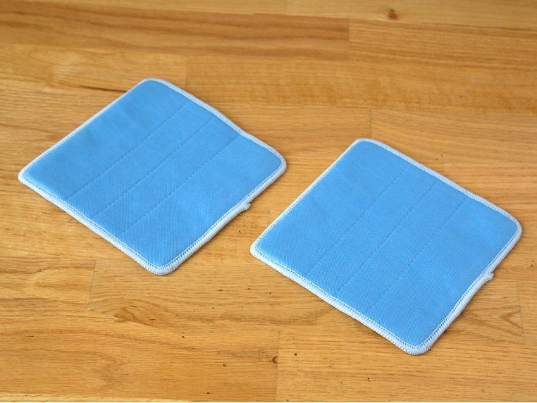 "360° Mop 6"" Glass Cleaning Pads by The Duop - 1"