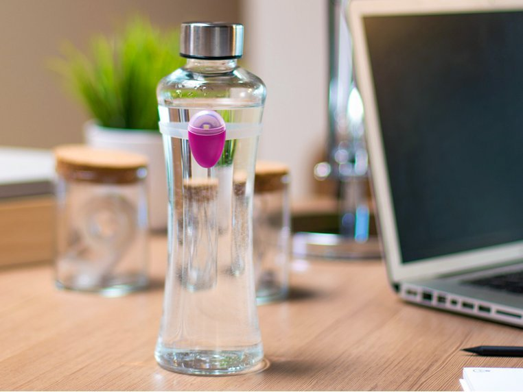 Hydration Reminder Bottle Accessory by Ulla - 1