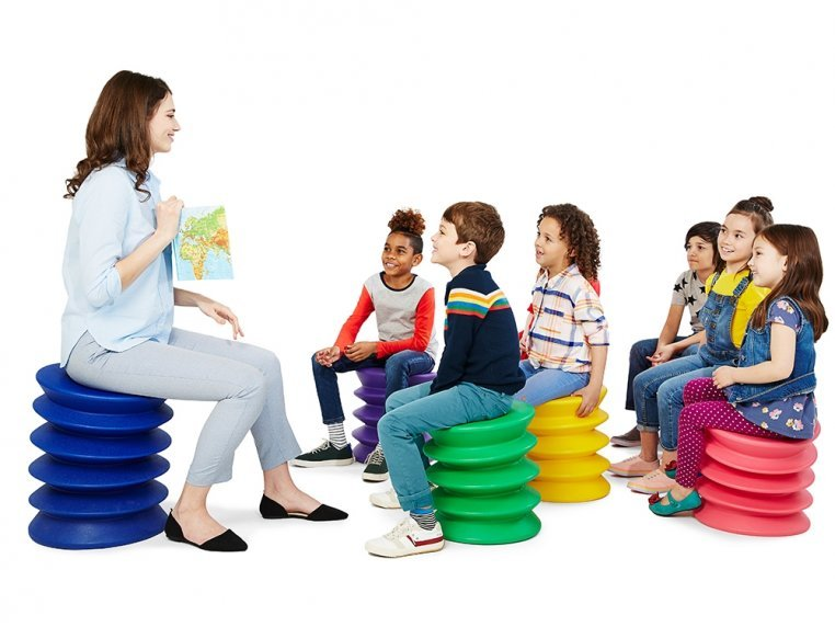 Kids Active Sitting Stool by ErgoErgo - 4