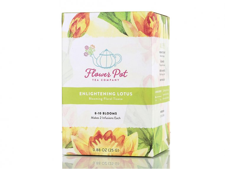 Floral Lotus Tisane by Flower Pot Tea Company - 5