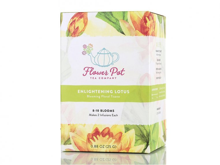 Floral Lotus Tisane & Teapot by Flower Pot Tea Company - 10
