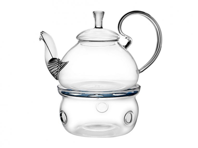 Glass Teapot Warmer by Flower Pot Tea Company - 2