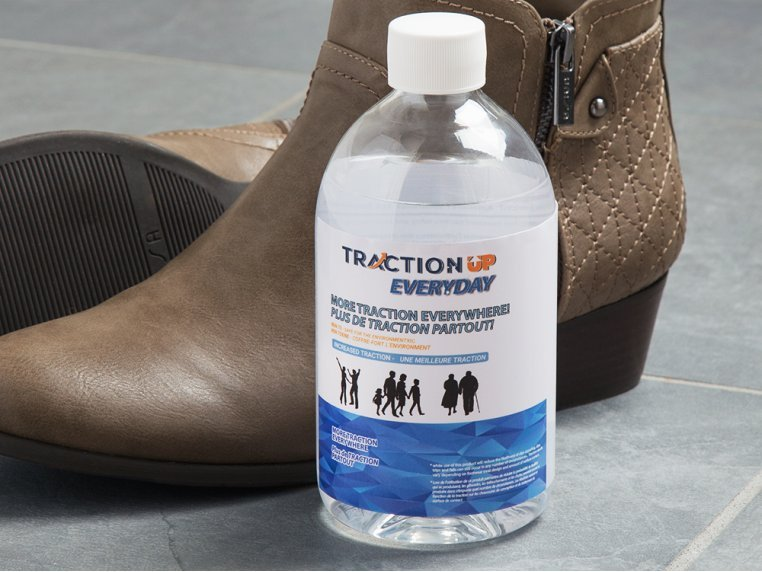 Anti-Slip Shoe Traction Solution by Traction Up - 1
