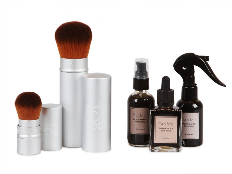 TanMeBox Self Tanning Kit by Spray di Sole - 6