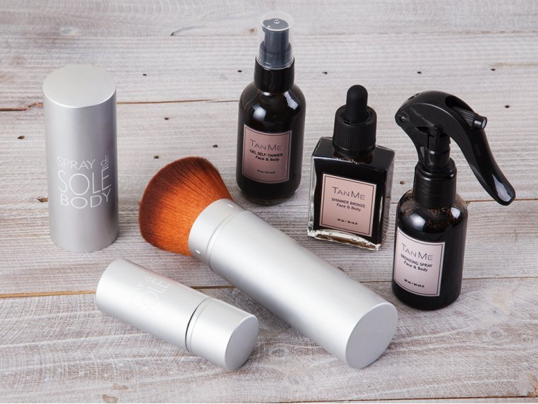 TanMeBox Self Tanning Kit by Spray di Sole - 1
