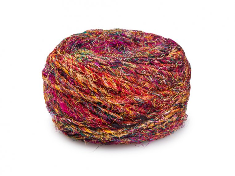 Handspun Banana Fiber Yarn by Darn Good Yarn - 4