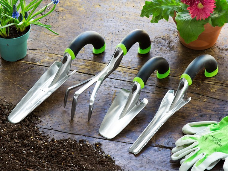 Ergonomic 4-Piece Garden Tool Set by Radius Garden - 1