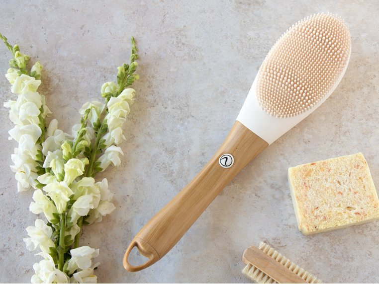 Opus Silicone Electric Body Brush by Nion Beauty - 1