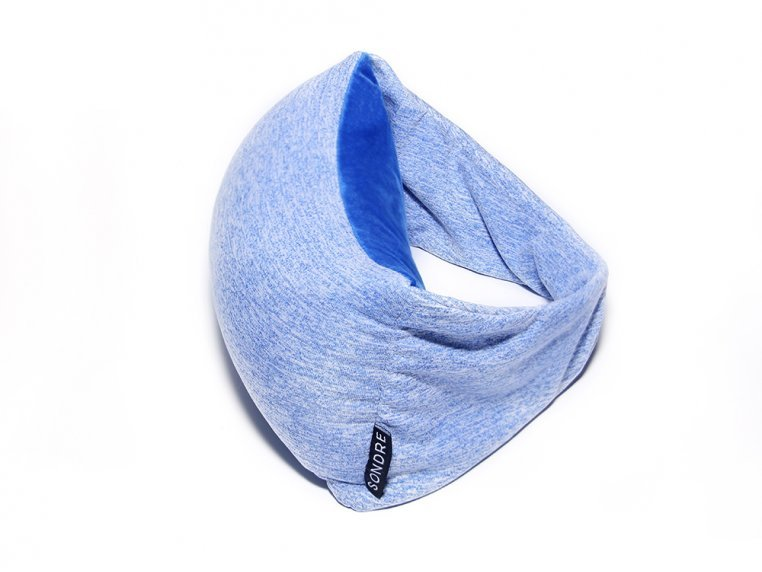 2-in-1 Travel Pillow & Eye Mask - Ocean Blue by Voyage Pillow - 2