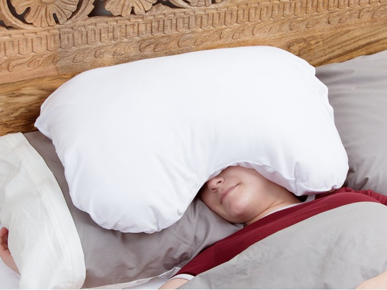 Over-The-Head Relaxation Pillow by Sleep Crown - 1