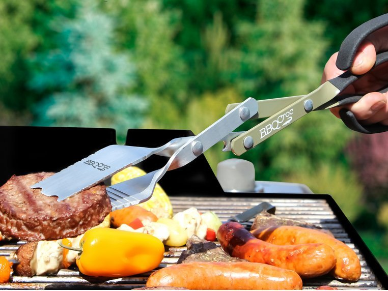 3-in-1 BBQ Tool by BBQ Croc - 1