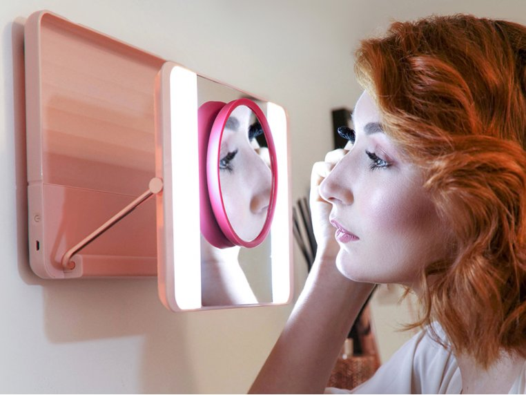 Bright Daylight LED Makeup Mirror 2.0 by Spotlite HD - 2