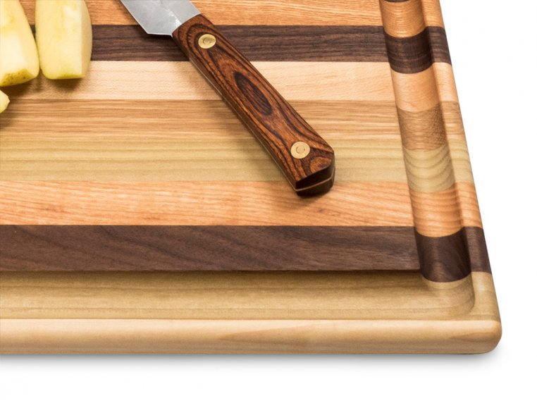 Handcrafted Grooved Cutting Board by Dickinson Woodworking - 3