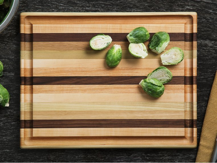 Handcrafted Grooved Cutting Board by Dickinson Woodworking - 1