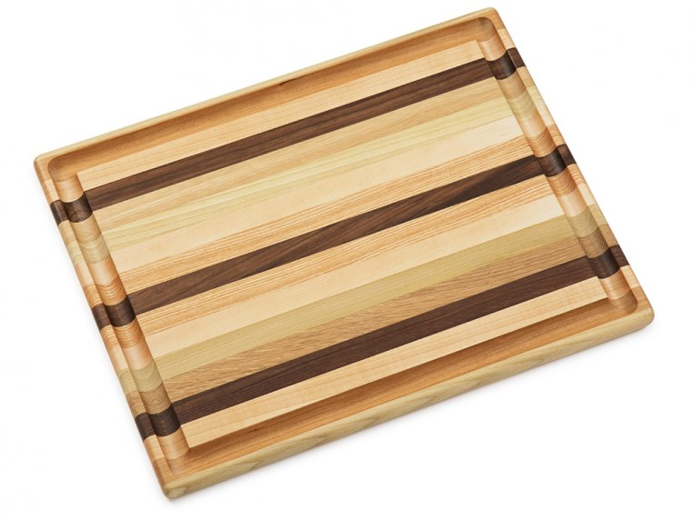 Handcrafted Grooved Cutting Board by Dickinson Woodworking - 4