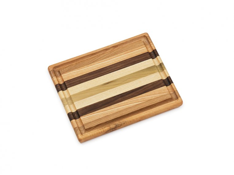 Handcrafted Grooved Cutting Board by Dickinson Woodworking - 5