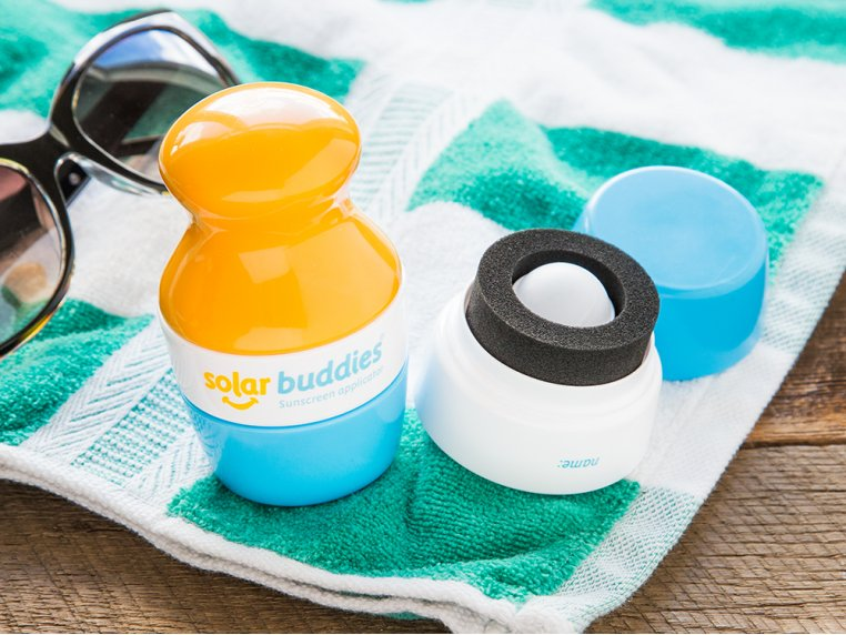 Roll-On Sunscreen Applicator Set by Solar Buddies - 1