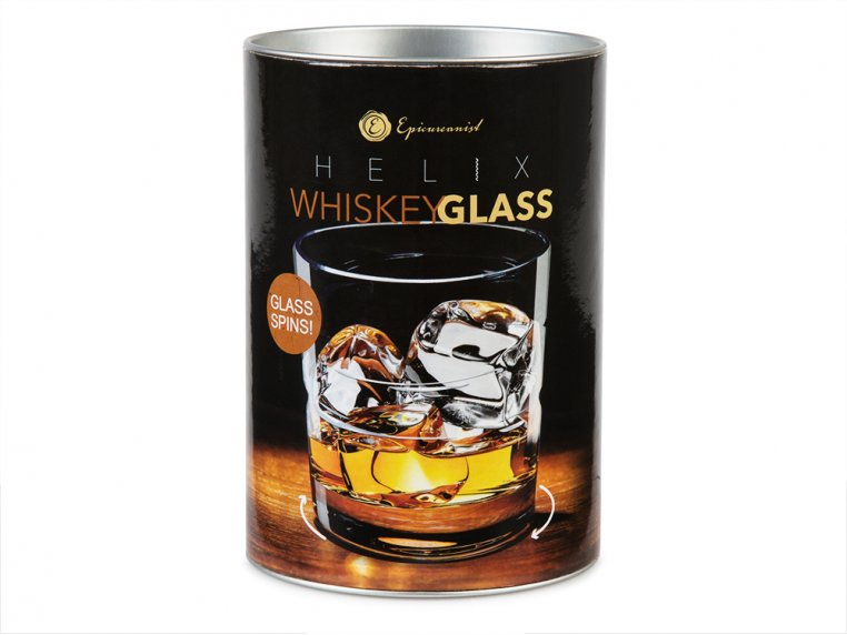 Spinning Whiskey & Spirits Glass by Epicureanist - 5