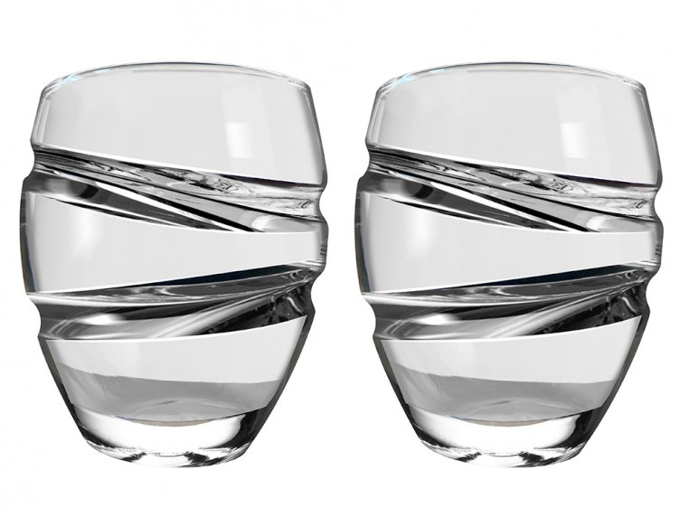 Spinning Wine Glass - Set of 2 by Epicureanist - 2