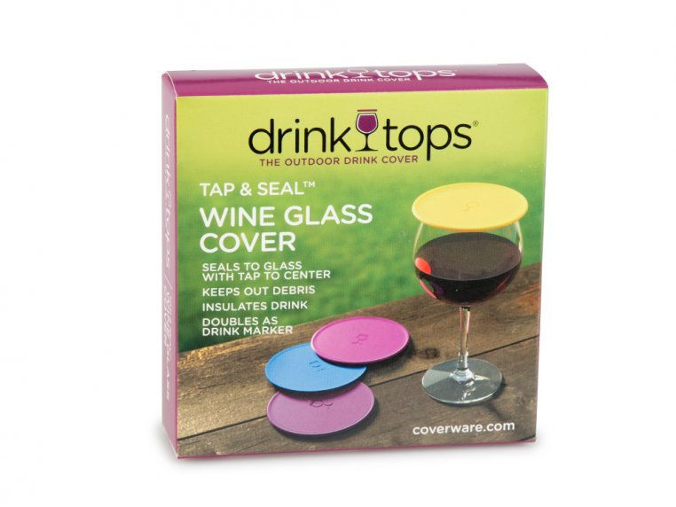 Silicone Outdoor Drink Covers by Drink Tops™ - 6