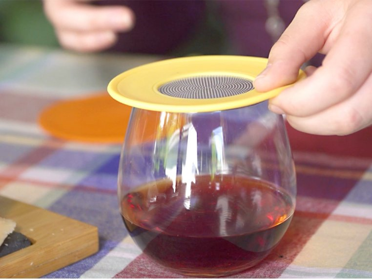 Ventilated Wine Drink Covers by Drink Tops™ - 2