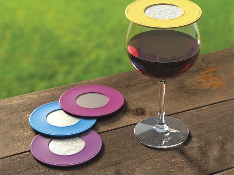 Ventilated Wine Drink Covers by Drink Tops™ - 1