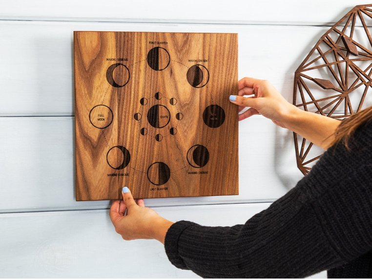 Astronomical Wooden Wall Art by Citizen Woodshop - 2