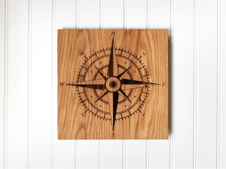 Astronomical Wooden Wall Art by Citizen Woodshop - 1