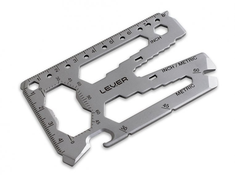 Pocket Multi-Purpose Tool by Lever Gear - 11