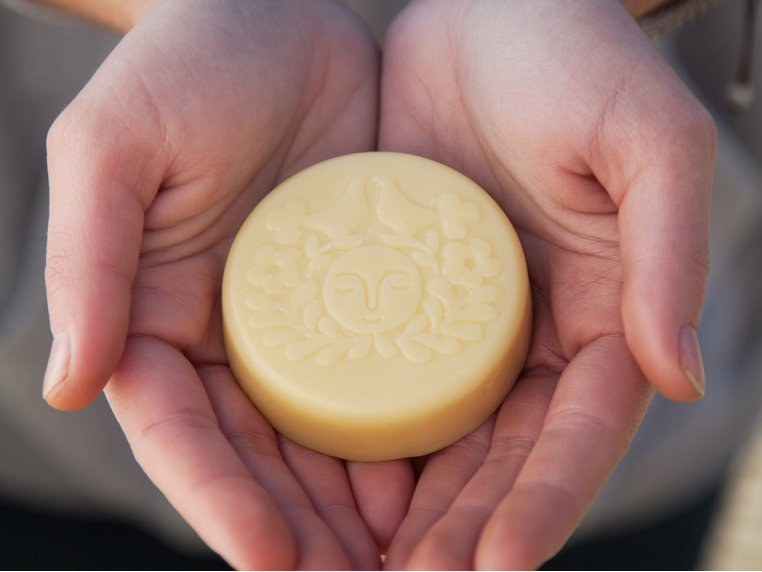 Beeswax Lotion Bar by Moon Valley Organics - 1