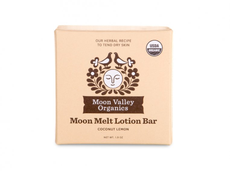 Beeswax Lotion Bar by Moon Valley Organics - 7
