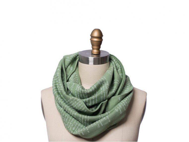 Book Themed Infinity Scarf by STORIARTS - 6