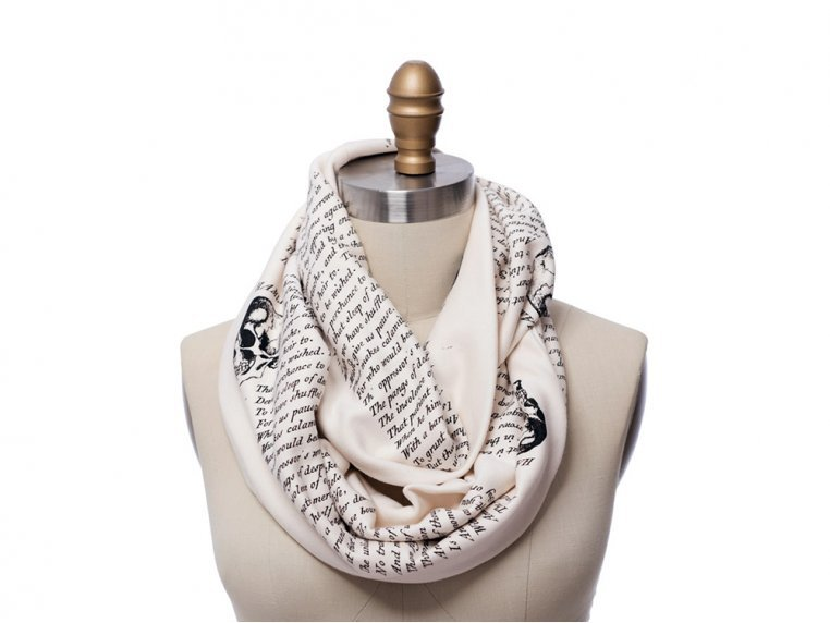 Book Themed Infinity Scarf by STORIARTS - 11