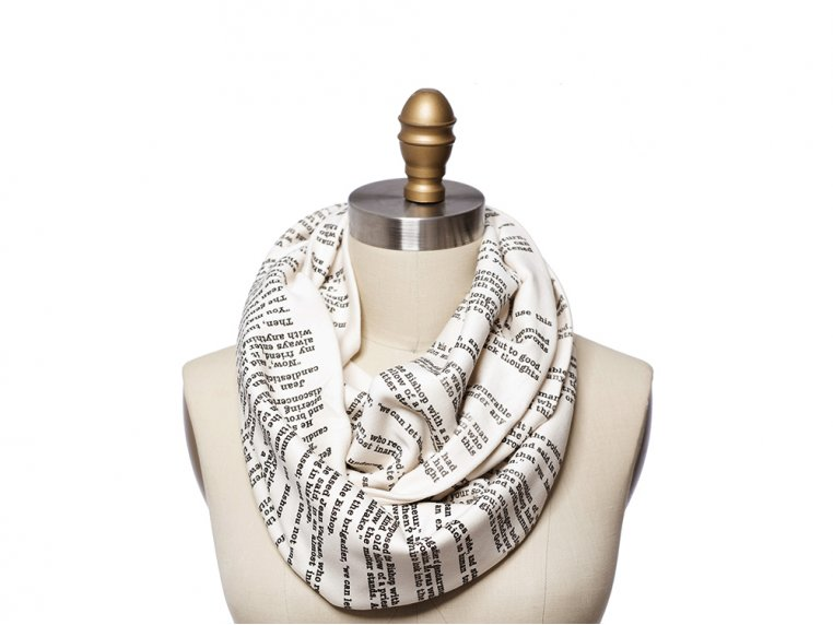 Book Themed Infinity Scarf by STORIARTS - 13