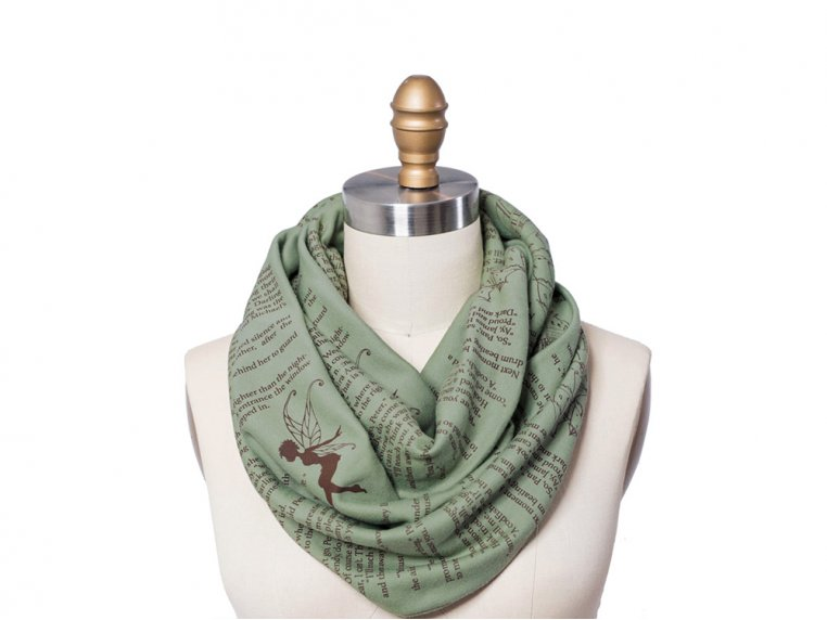 Book Themed Infinity Scarf by STORIARTS - 15