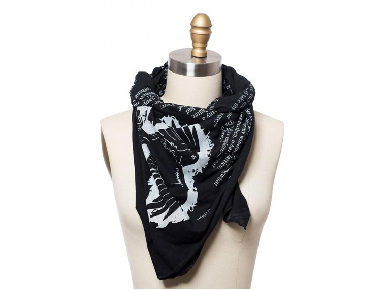 Book Themed Lightweight Scarf by STORIARTS - 11
